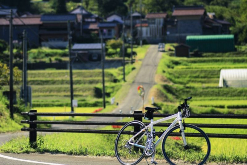自転車 サイクリング 風景