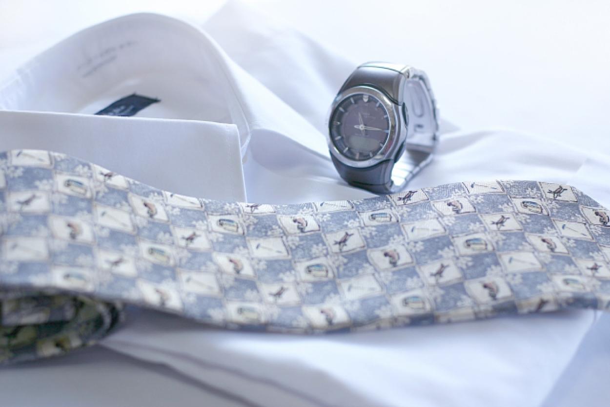 時計 ネクタイ シャツ