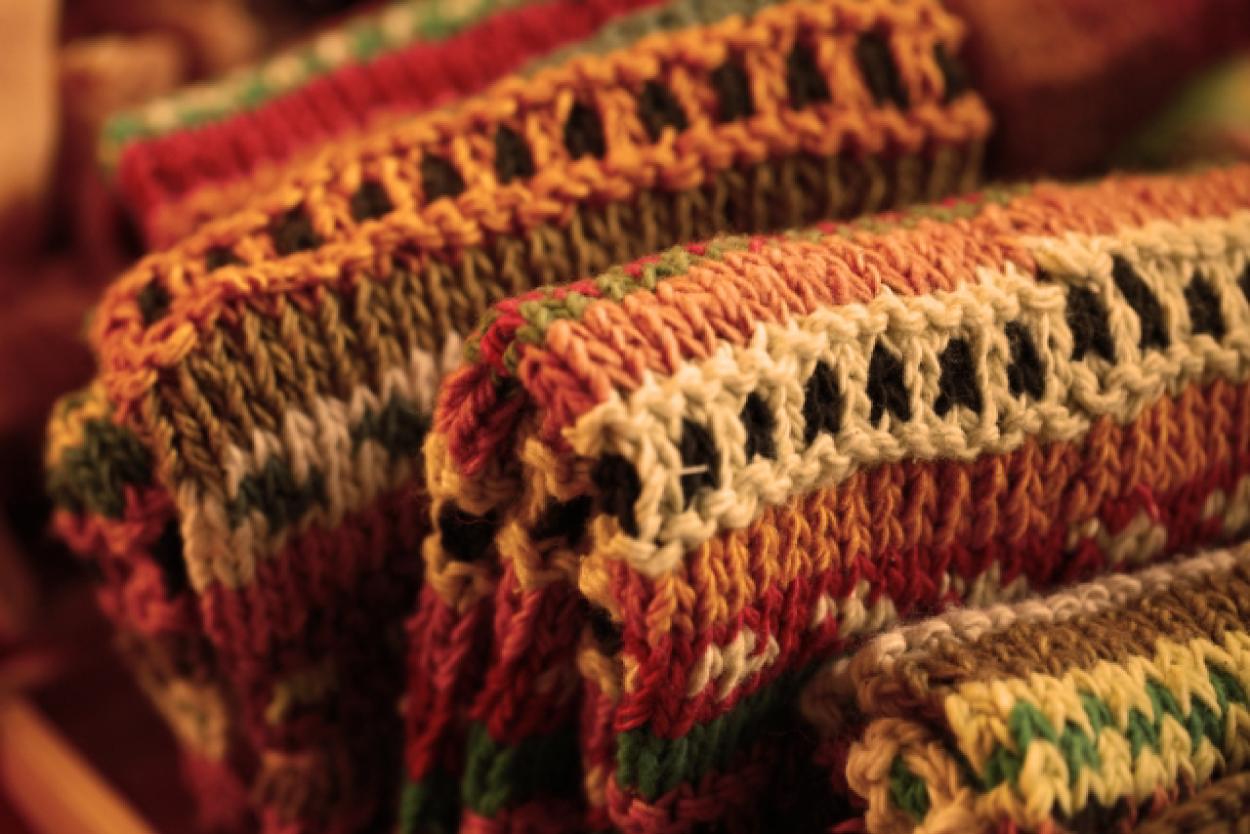 マフラー 毛糸