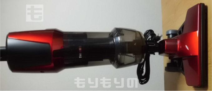 ツインバード サイクロンスティック型クリーナー4