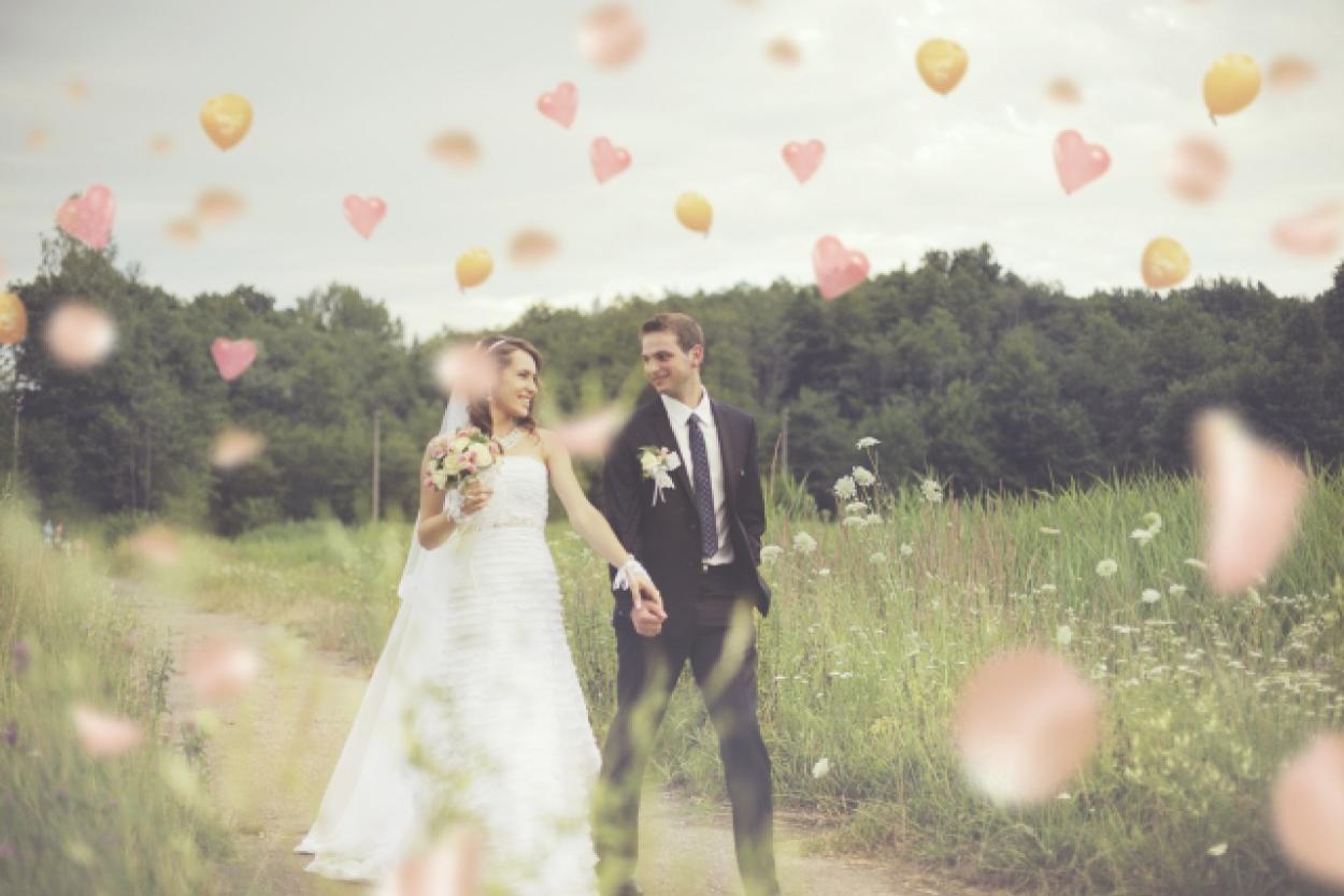 カップル 結婚 ハート
