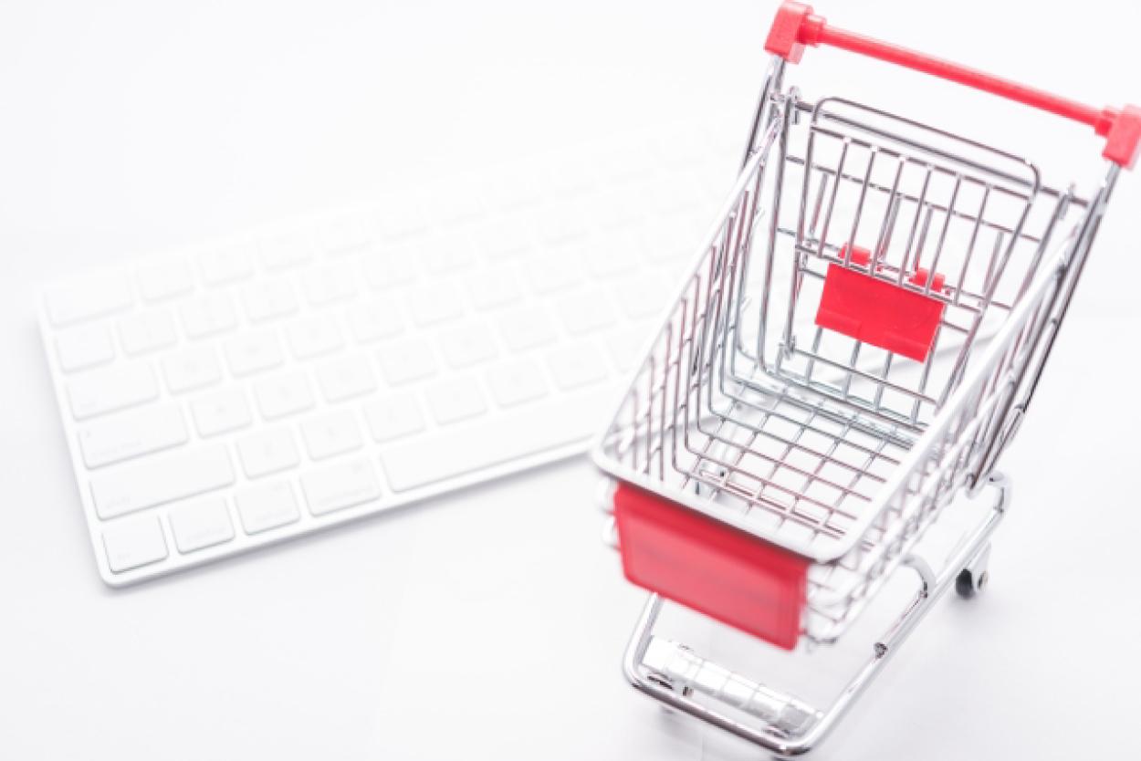ショッピングカート キーボード