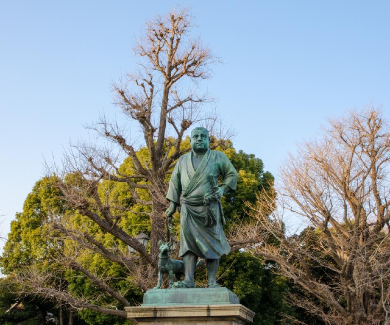西郷隆盛銅像1