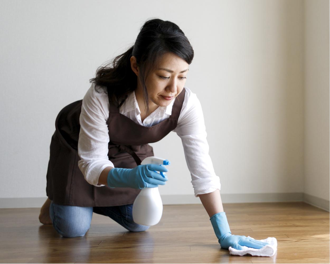 掃除 女性
