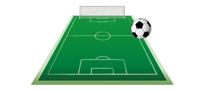 サッカー グラウンド ボール