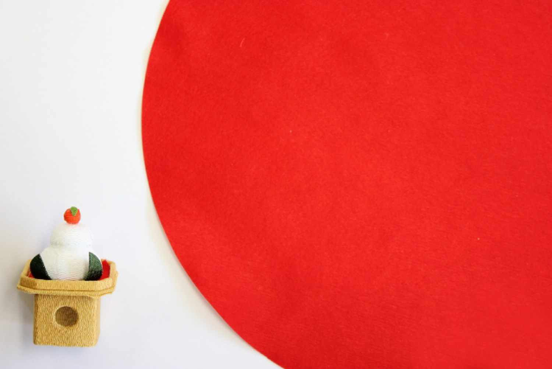 日本 正月 鏡餅