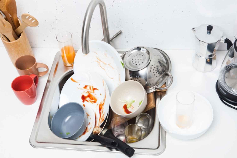 キッチン 台所 洗い物 掃除