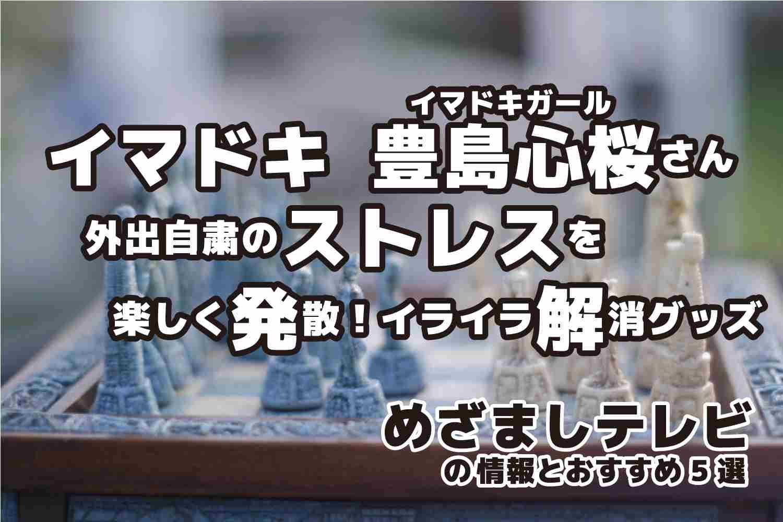 めざましテレビ イマドキ 豊島心桜さん イライラ解消グッズ