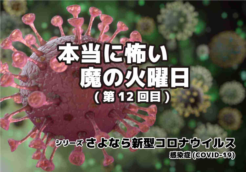 新型コロナウィルス COVID-19 魔の火曜日 シリーズ第12回目