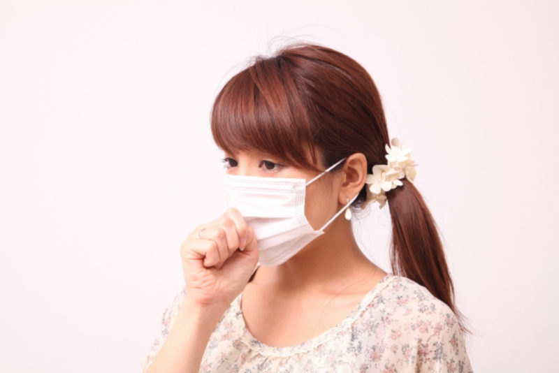 花粉 PM2.5 マスク 女性