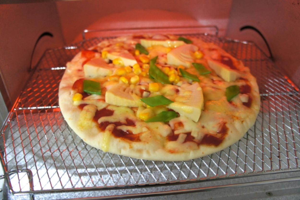 オーブントースター ピザ