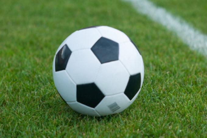 サッカーボール グラウンド
