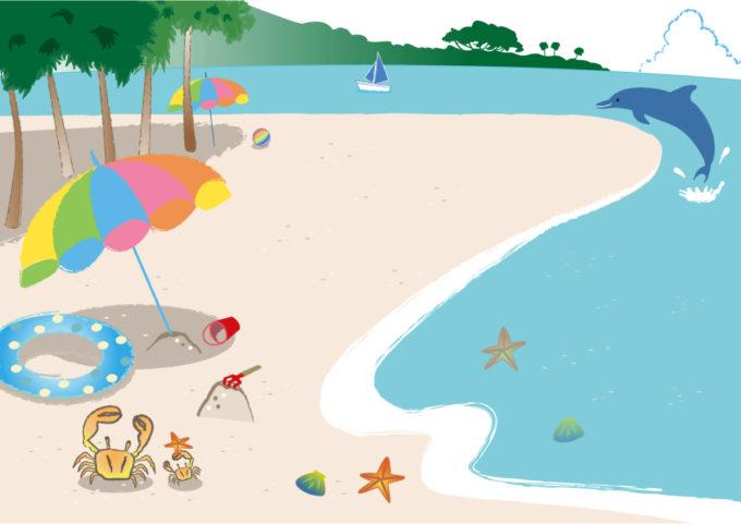 景色 海 砂浜