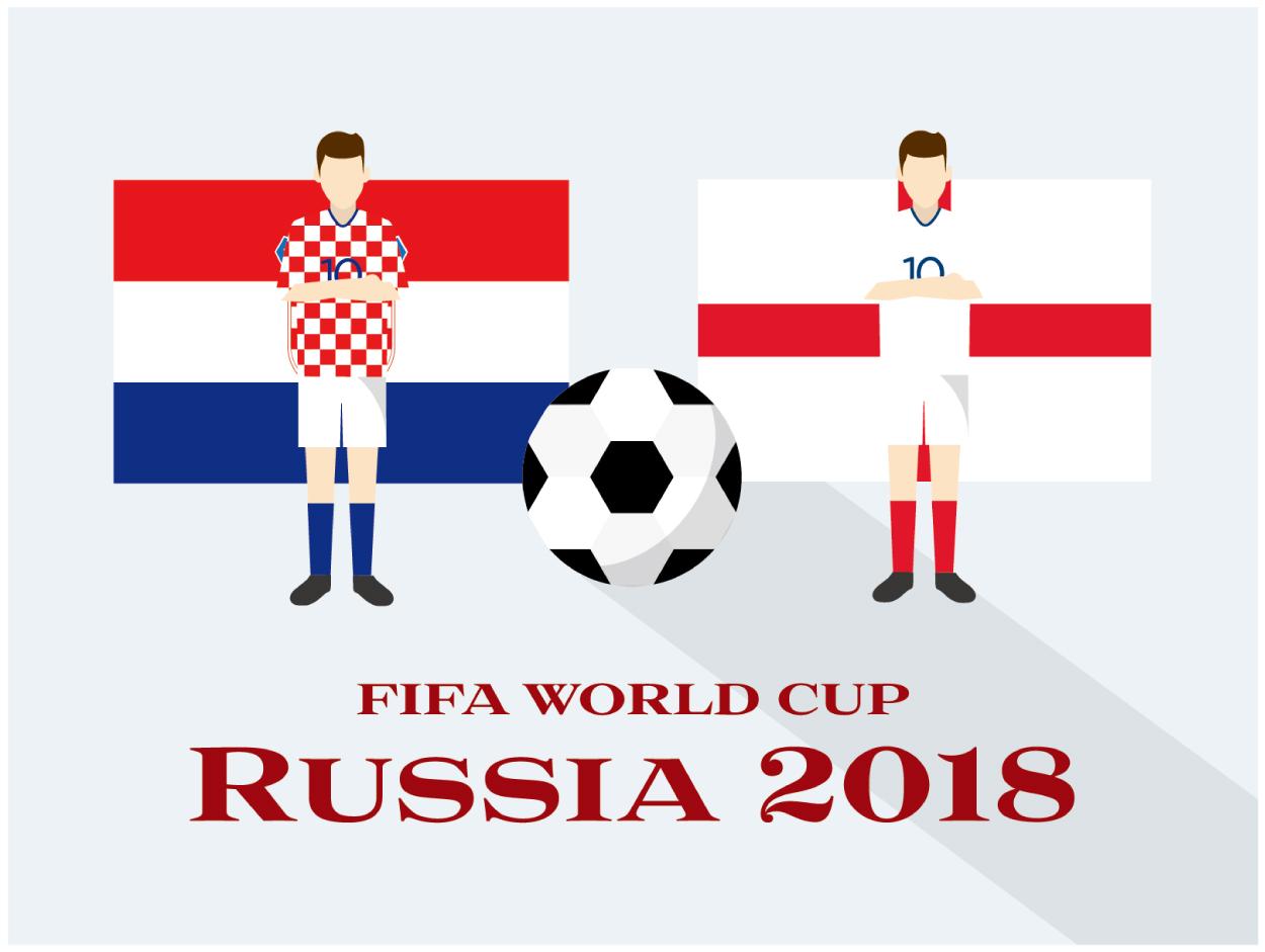 クロアチアVSイングランド ワールドカップ