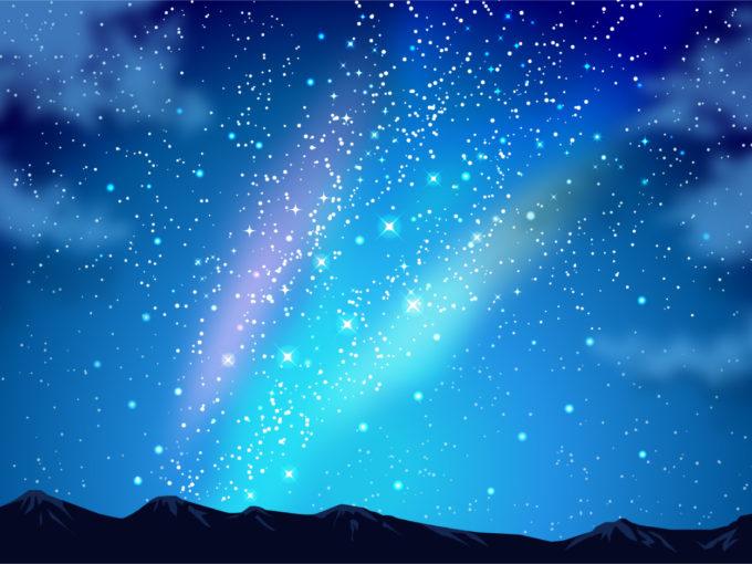 夜空 青空