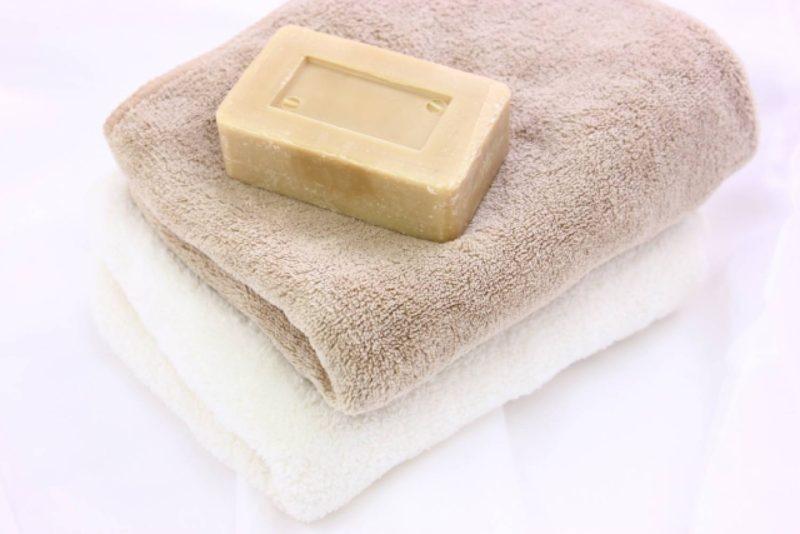 風呂 石鹸 タオル