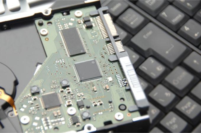 パソコン ハードディスク