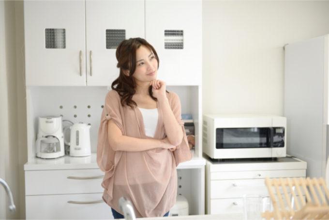 女性 キッチン 考える