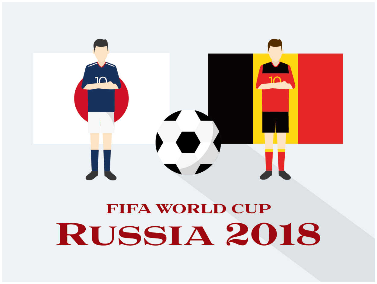 日本対ベルギー