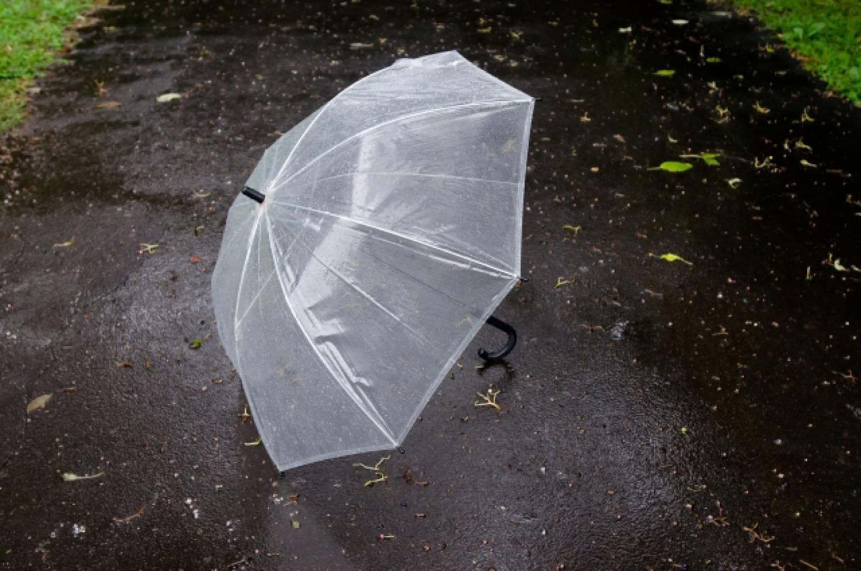 雨 rain 使い捨て傘 コンビニ傘