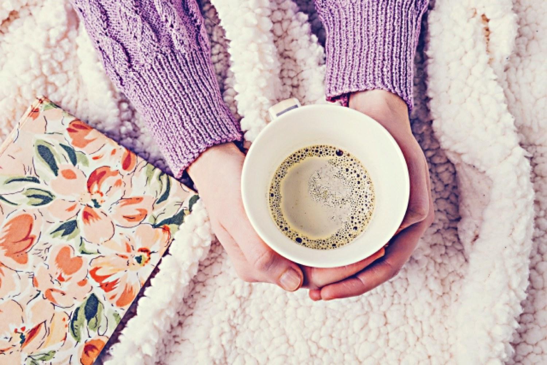 毛布 着る毛布 コーヒー