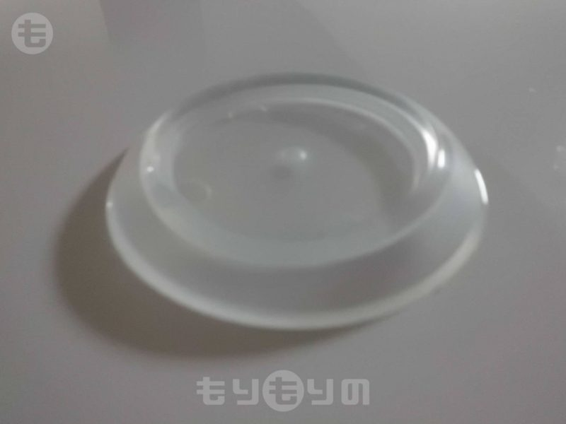 TRUSCO トラスコ  受け皿  71.5MM 透明
