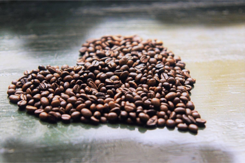 コーヒー 豆 ハートマーク