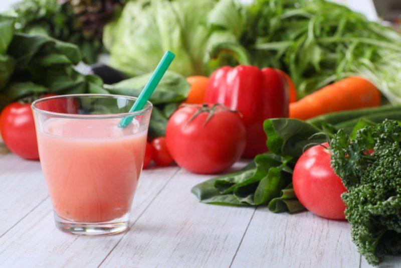 キッチン ジュース 野菜 果物
