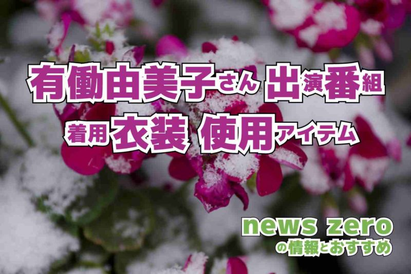 news zero 有働由美子さん 衣装 2021年1月5日放送