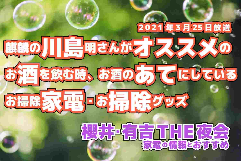 櫻井・有吉 THE夜会 家電 グッズ 2021年3月25日放送